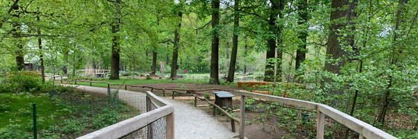 Neuer Besucherbereich im Tierpark