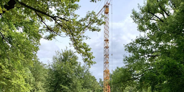 Baustelle Raubtierhaus